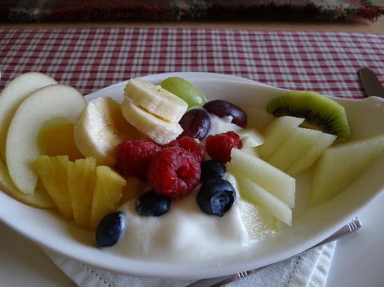 Tolles Frühstück in Wemyss House