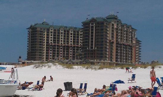 Emerald Grande View From Private Beach Picture Of