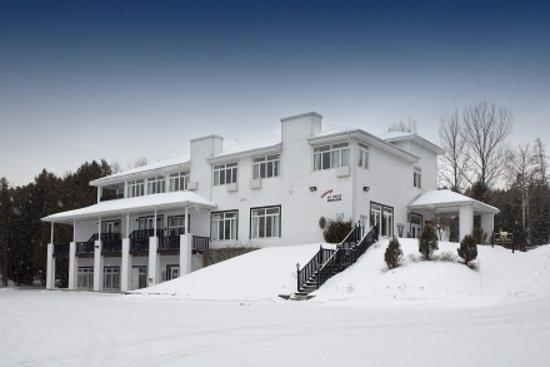 Hôtel au Petit Berger en hiver