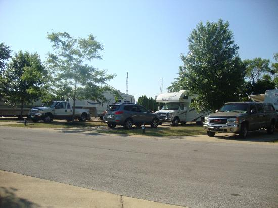 Camper Village at Cedar Point: Lighthouse Village section of the campground