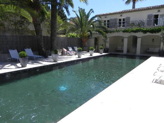 Pastis Hotel St Tropez: Pool