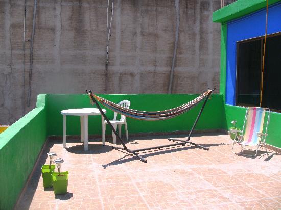 B&B Barra de Navidad Cama y Desayuno: Integral sunbathing possible