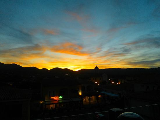 In Cantina: Vue de la terrasse