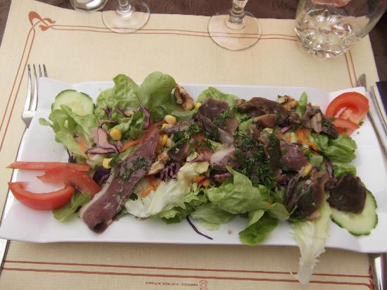 La Taverne du Croquant : Super salade de gésiers d'oie : à recommander