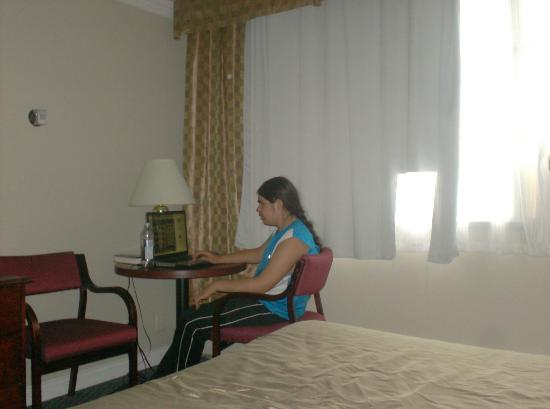 Super 8: Sorry That I didn't take more photos than this room was basic but very clean and comfortable.