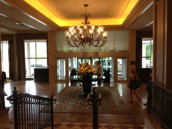 The Chase Park Plaza: The lobby of the The Chase