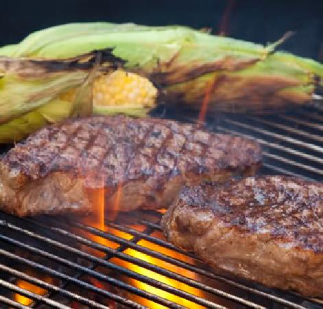 Hoffbrau Steak & Grill House: Sirloin and Roasted Corn