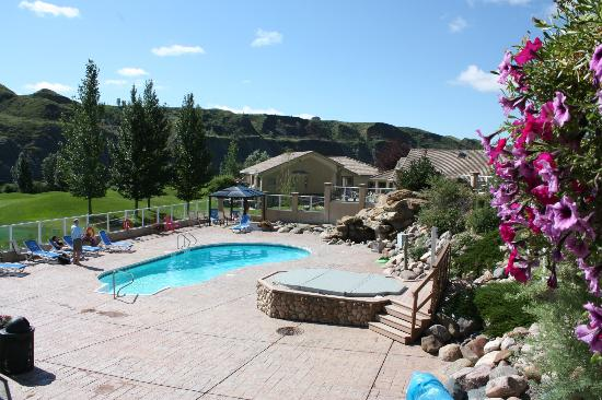 Paradise Canyon Golf Resort : Pool area
