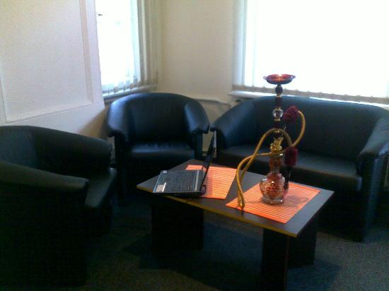 United Hostel: гостинная/зона отдыха