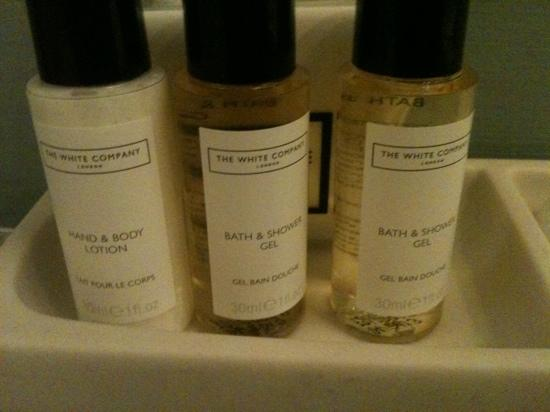 Star Cottage: White Company toiletries