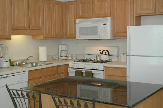 Manilow Suites at the Shoreham: Updated appliances and granite counters are just some of the amenities.