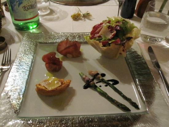 Il Brandano : assortment of appetizers