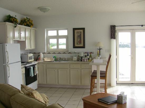 Turtle's Nest Beach Resort: kitchen area