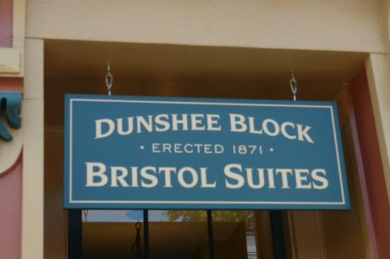 Bristol Suites: 2 BR and 3BR suites in historic downtown building