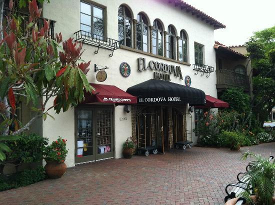 El Cordova Hotel: Front Door