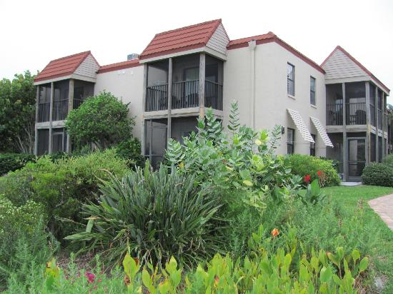 Sanibel Moorings: Our condo on the top floor