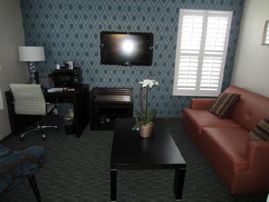 Ivy Hotel Napa: sitting area
