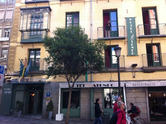 Foto de hotel ateneo puerta del sol madrid view from for Hotel madrid sol