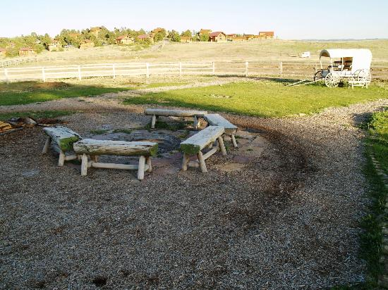 The Hideout Lodge and Guest Ranch (Shell, WY) - Resort ... |Dude Ranch Fire Pit
