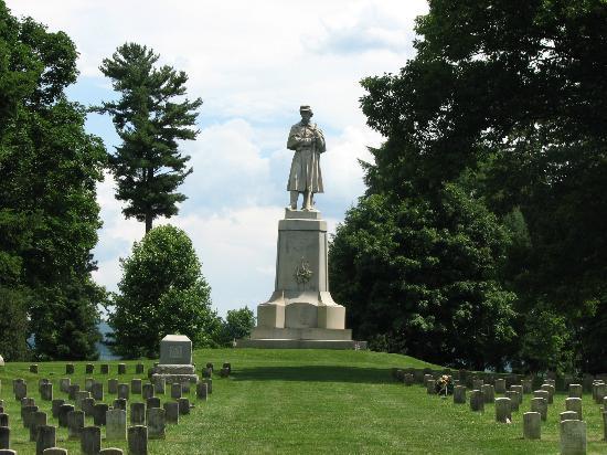 Antietam National Battlefield: At the National Cemetery