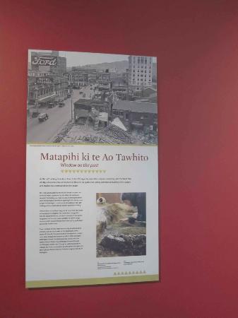 Information at Te Aro Pa