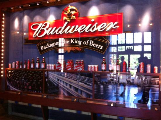 some of the anheuser busch family of products - Picture of