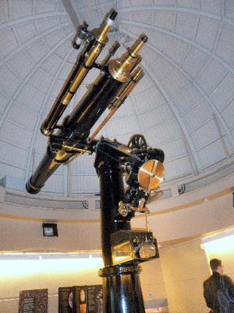 Space Place at Carter Observatory : Cooke's telescope