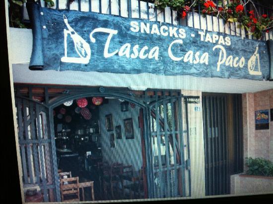 Tasca Casa Paco, La Tasca Amiga.