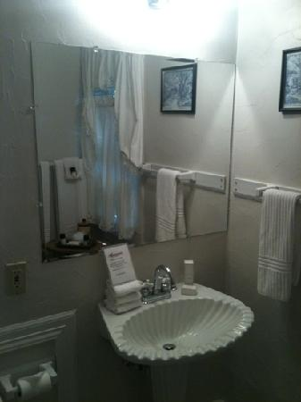 All Seasons Main Street Retreat: bathroom June 2013
