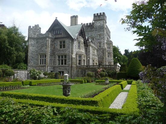 Italian Garden - Picture Of Hatley Park National Historic Site