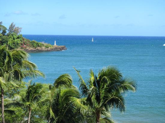 Marriott's Kaua'i Beach Club: Easy on the eyes-from the shaded balcony