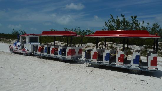Playa Paraiso: trencito