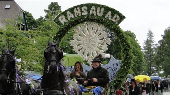 Hotel Annelies: .....Ramsau lädt ein - zum Frühlingsfest der Pferde...