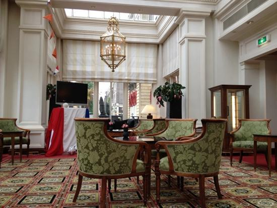 Amstel lounge picture of intercontinental amstel - Amstel hotel amsterdam ...