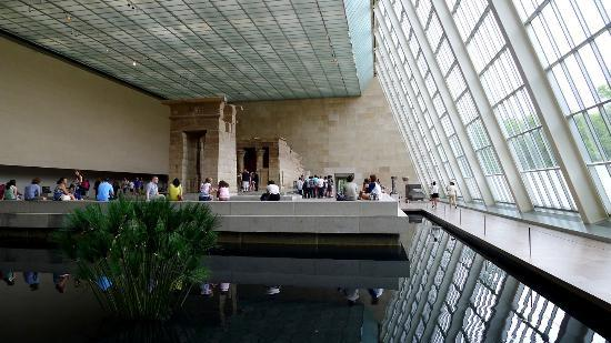 Temple Of Dendur At The Egyptian Wing Picture Of The