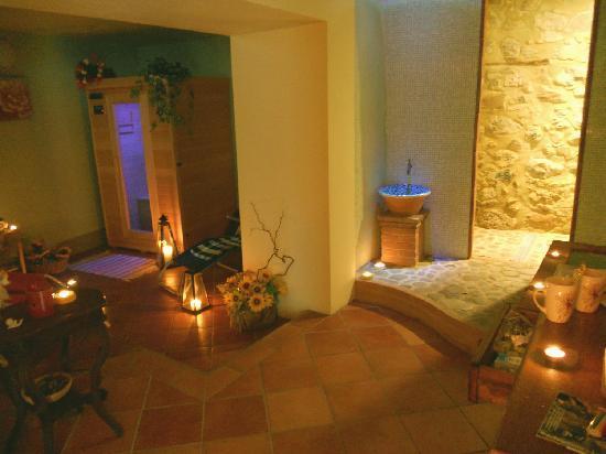 area benessere CASTANEA - Foto di B&B La Margine, Bagni di Lucca ...