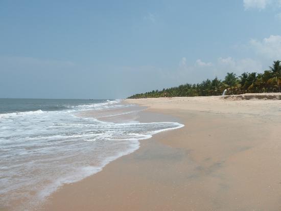 Marari Beach Villas: la plage