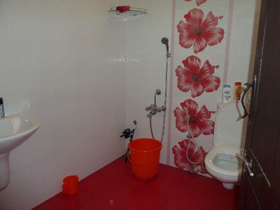 Marari Beach Villas: salle de bain de l'hotel