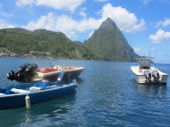 Saluna Excursions & Watersports: Idyllic view!