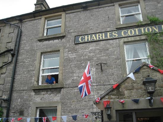Charles Cotton Hotel: looking out of our bedroom