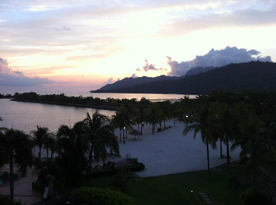 Langkawi Lagoon Resort: View from our room