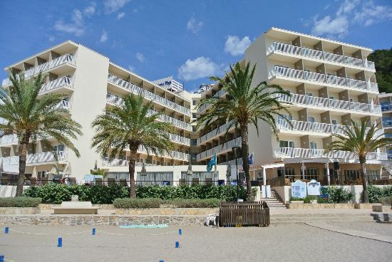 Veraclub Ibiza: Vista albergo Veratour Ibiza