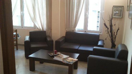 Hotel Mirabello: Sitting area