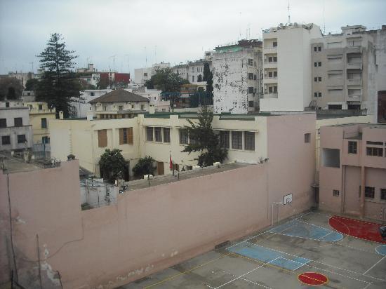 Chellah Hotel Tangier: vistas