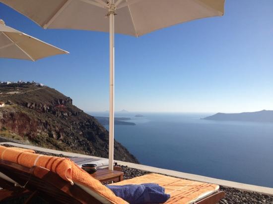 Anastasis Apartments: Sundowner am Pool