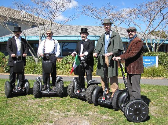 Move Nelson Segway Tours : Segways in Victorian days