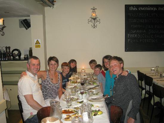 Green Olive Meze Bar & Restaurant: The Gang