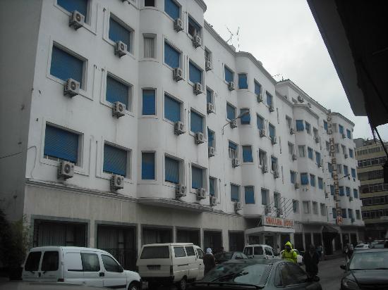 Chellah Hotel Tangier: fachada hotel