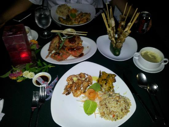 Dos Palmas Island Resort & Spa: Excellent food