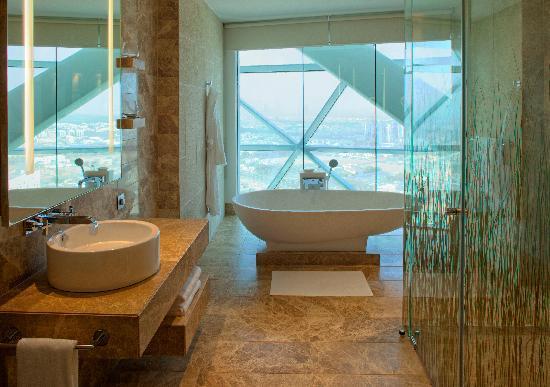Hyatt Capital Gate: Deluxe Bathroom